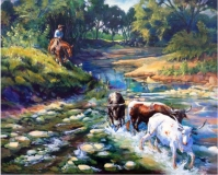 Cynthia Westbrook - Runnin' in the Strays on the Chisholm Trail